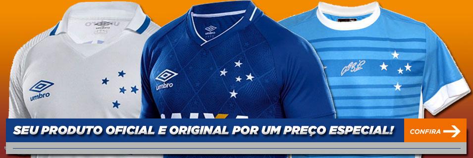 b4df83460a33b Loja Azul e Branco - A Loja Virtual do Torcedor Cruzeirense - Desde 2003